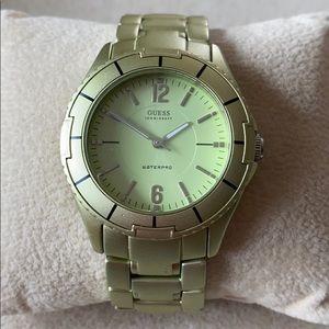 Guess Waterpro watch. 100M/300ft water resistant